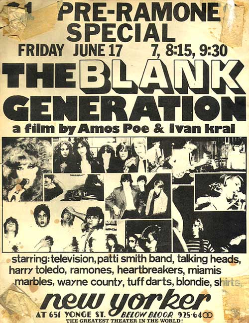 Posters-Blank-generation