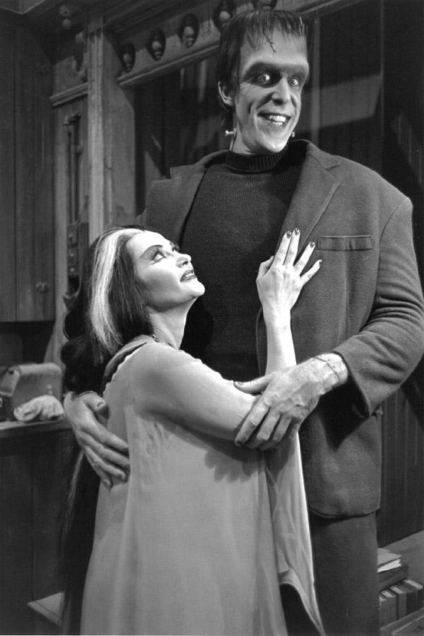 munsters-herman-&-lily