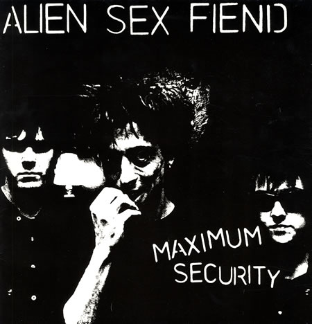 Alien+Sex+Fiend+-+Maximum+Security+-+Autographed+-+LP+RECORD-368398