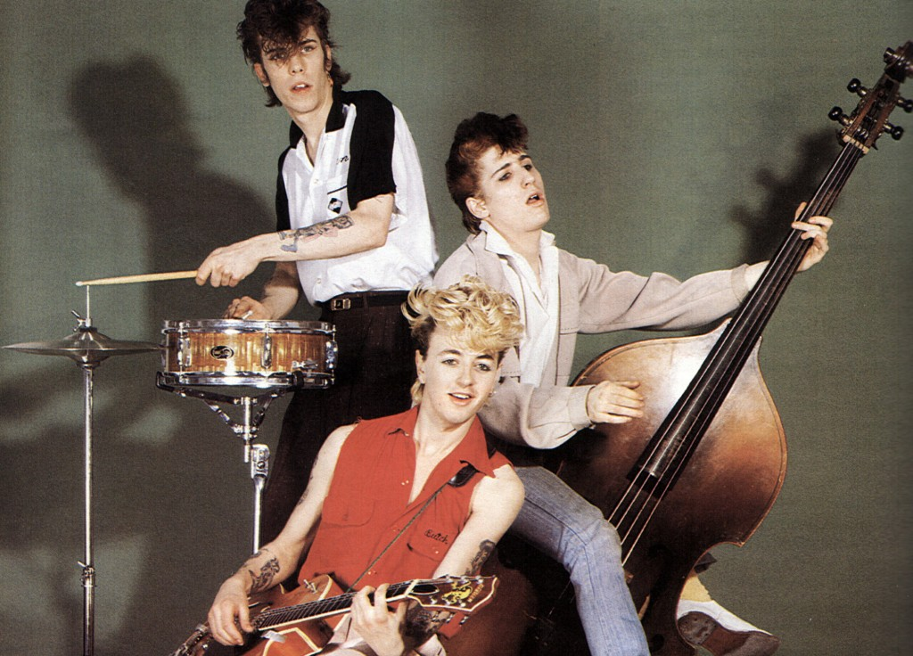 Photo of STRAY CATS and Slim Jim PHANTOM and Brian SETZER and Lee ROCKER