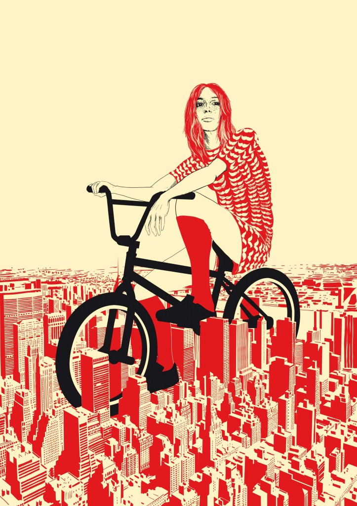 "Graphic Design by Chris Thornley aka Raid71 - ""Summer in the City"""