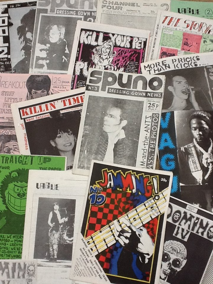 stamps - punk zines