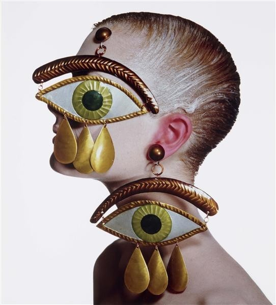 penn's gaultier earrings