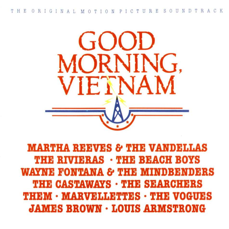 Good Morning Vietnam Soundtrack - Front