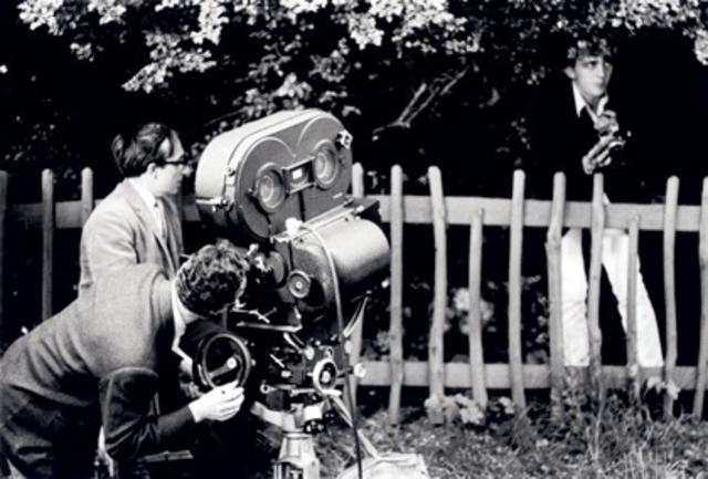 blow up - antonioni directing