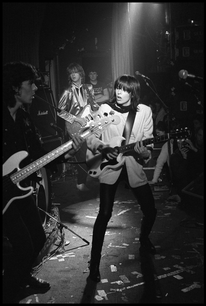 The Pretenders performing at the Nashville Rooms, London on March 9 1979