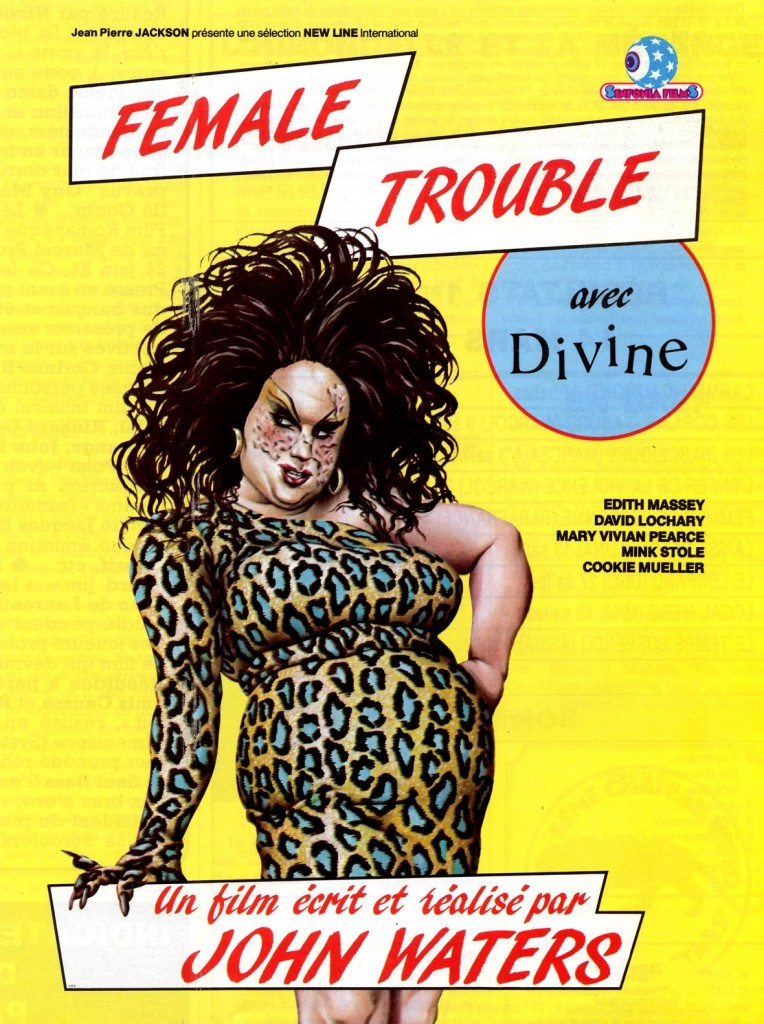 i am divine - female poster