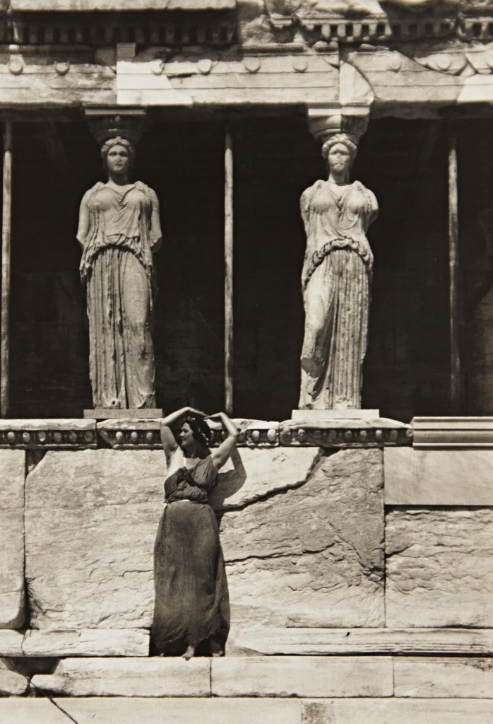 isadora duncan at greece