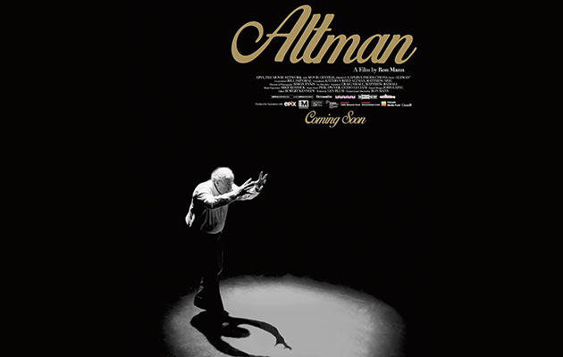 Poster do doc sobre Robert Altman