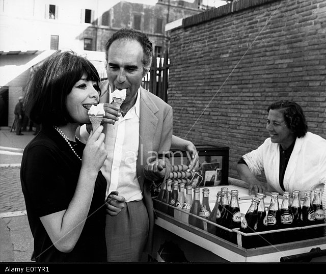 Juliette Gréco e Michel Piccoli