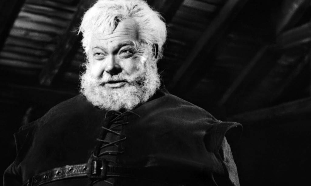 Welles como Falstaff