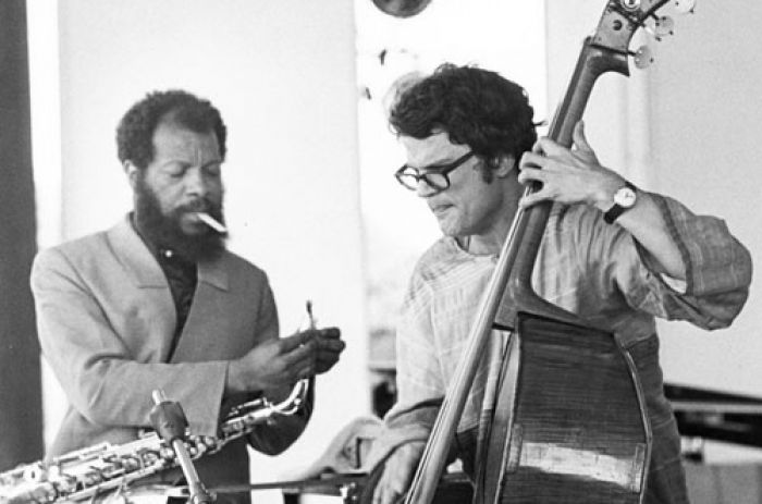 Ornette-Coleman and charlie haden