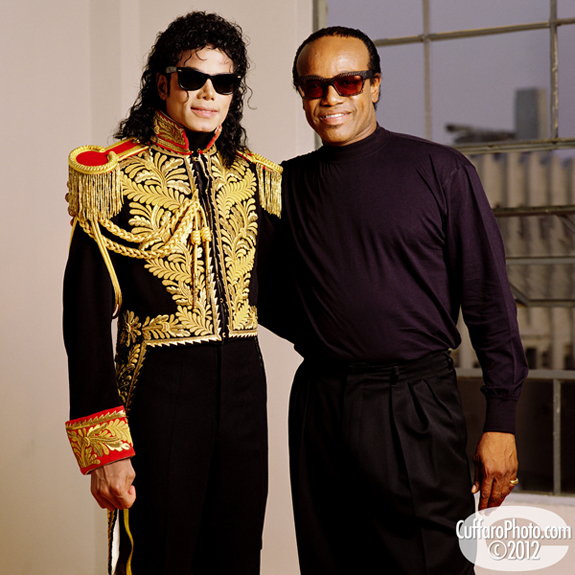 Bobby Womack com Michael Jackson