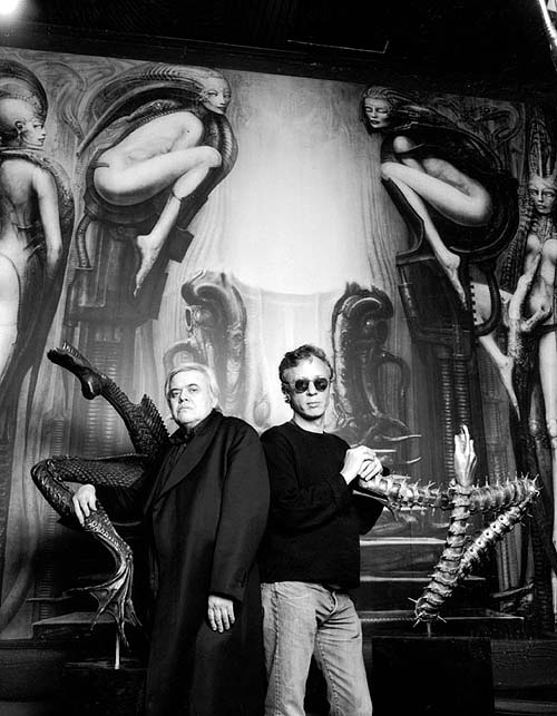 limelight - giger room