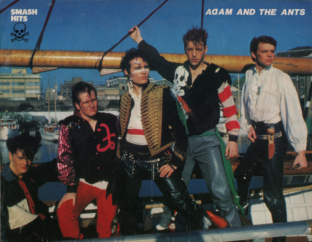 adam and the ants Ant Music ad 1980 top of the pops smash hits poster