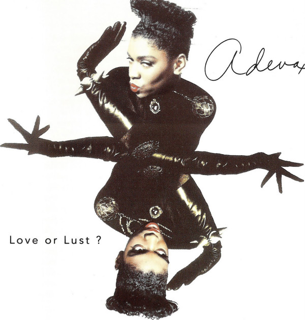 "Adeva na capa de ""Love or Lust"""