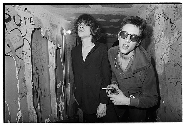David Johansen e Richard Hell por Paul Zone