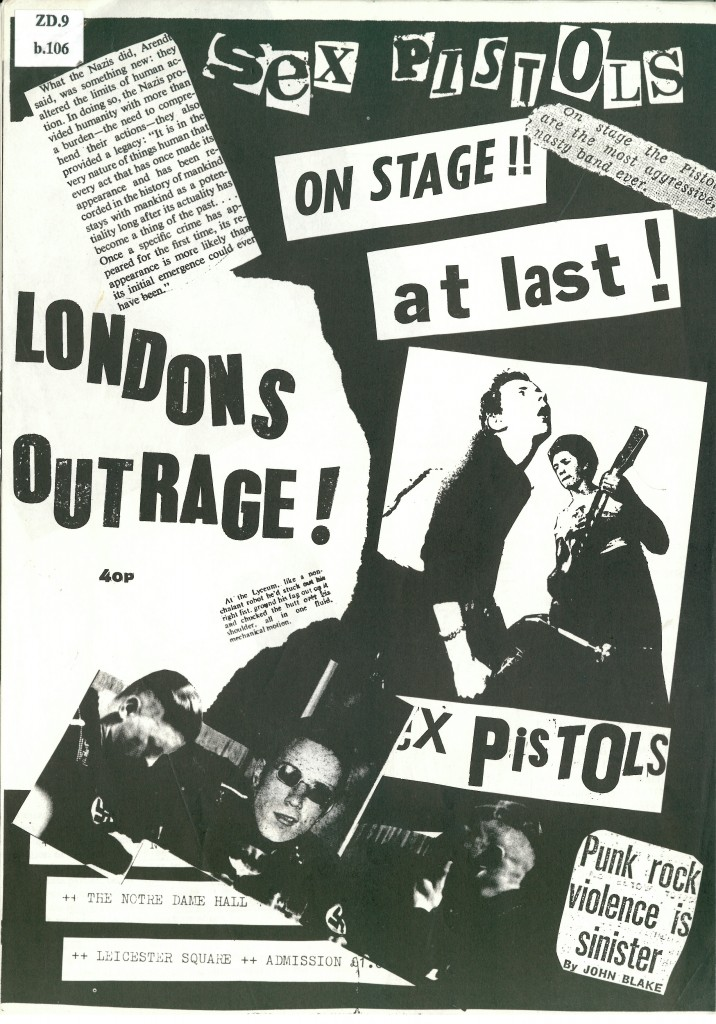 punk london-outrage-fanzine-by-jon-savage