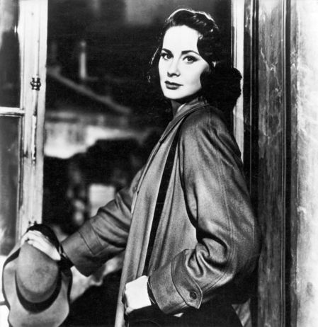 "Alida Valli em foto promocional de 'The Third Man""."