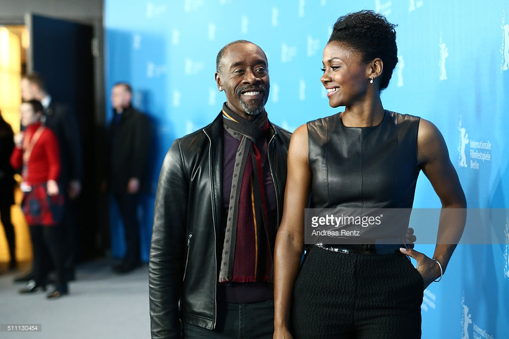 Don Cheadle e Emayatzy Corinealdi.