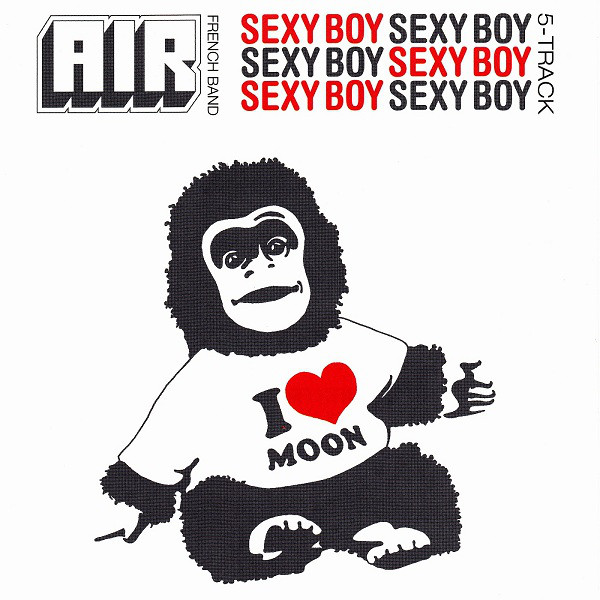 "Capa do single de ""Sexy Boy"", com o macaquinho do video."