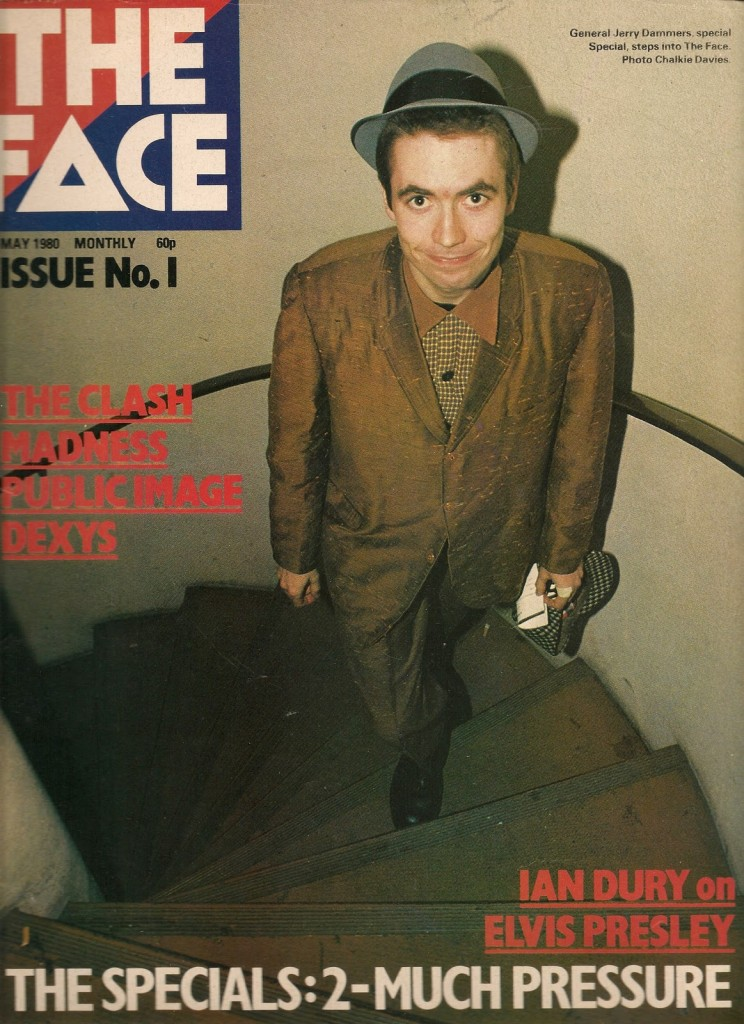 Primeiro exemplar da The Face com Jerry Dammers (do The Specials) na capa.